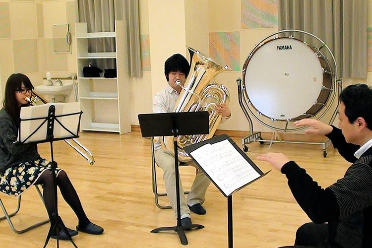 弘前大学 教育学部 音楽教育 ラッパ