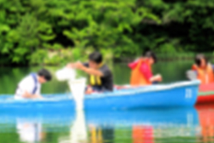 弘前大学 教育学部 理科教育 湖沼調査