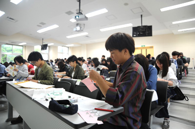 授業・実習風景 小学校算数基礎